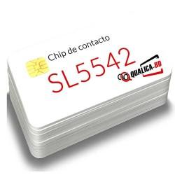 Tarjeta con chip de contacto SL5542
